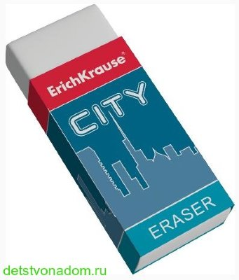 Ластик Erich Krause, City Eraser