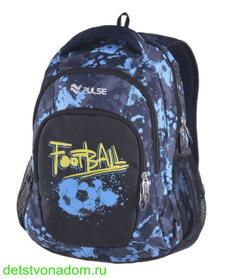 Рюкзак Pulse Teens Blue Football 121453