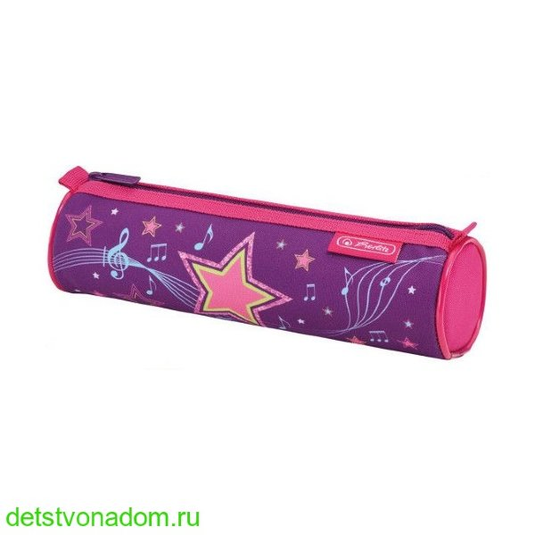 Пенал-тубус Herlitz  Melody Star