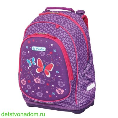 Рюкзак Herlitz Bliss Purple Butterfly 50013982