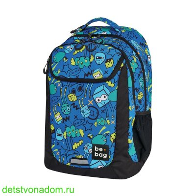 Рюкзак Herlitz be.bag Be.Active Monster Party 24800198