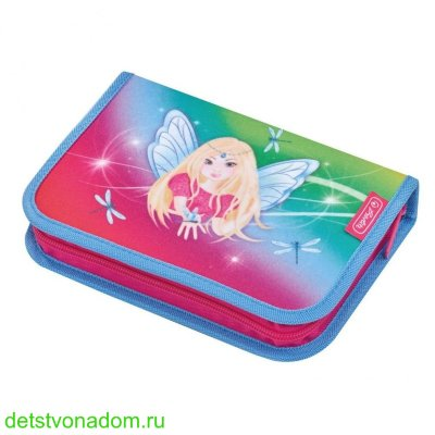 Пенал Herlitz Rainbow Fairy 31 предмет 50014309