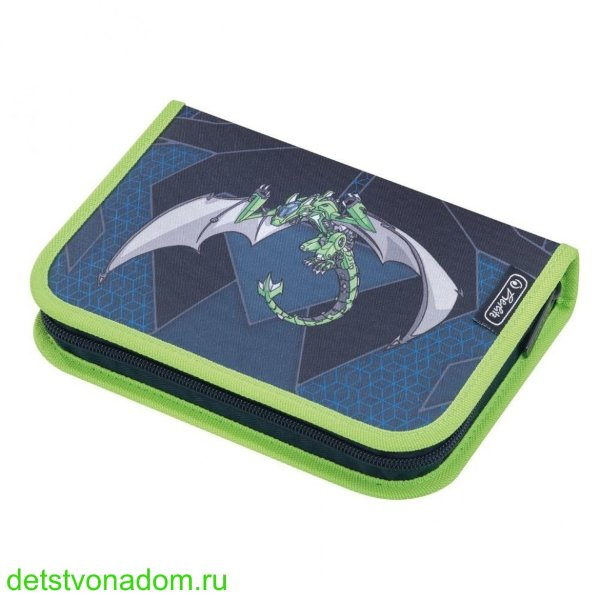 Пенал Herlitz Green Robo Dragon 31 предмет 50014361