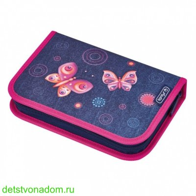 Пенал Herlitz Loop Butterfly Dreams 31 предмет 50008339