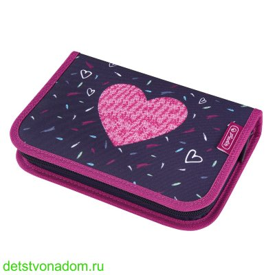 Пенал Herlitz Tropical Heart 31 предмет 50026142